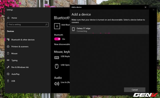 Toàn tập về cách sử dụng Bluetooth để kết nối điện thoại với máy tính chạy Windows 10 - Ảnh 6.