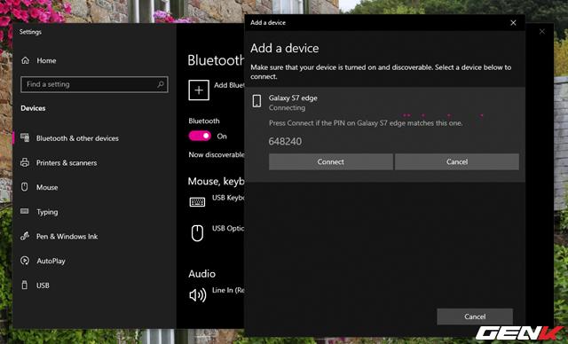 Toàn tập về cách sử dụng Bluetooth để kết nối điện thoại với máy tính chạy Windows 10 - Ảnh 7.