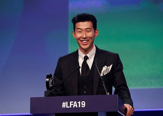 Son Heung-min được vinh danh dù Tottenham hết cửa vô địch - Ảnh 1.