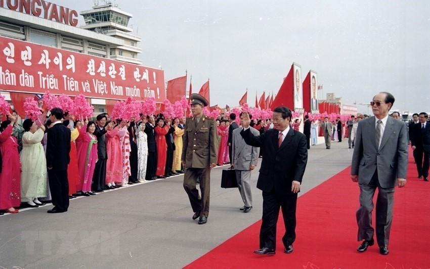 Chuyến thăm cấp cao nối lại mối lương duyên Việt-Triều sau 3 thập kỷ qua lời kể cựu Đại sứ Việt Nam ở Triều Tiên - Ảnh 12.