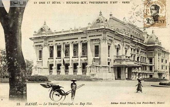 Nhà hát lớn Hà Nội, hoàn thành năm 1911