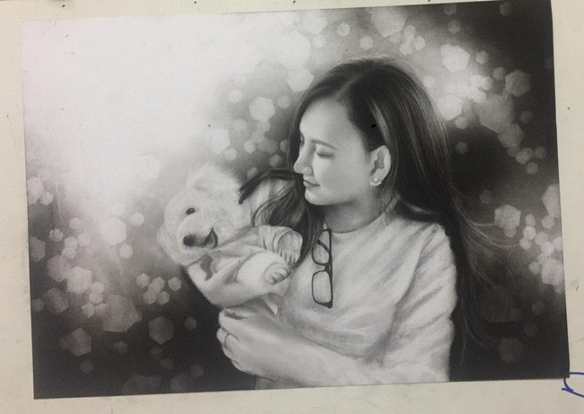 Xót xa câu chuyện của nữ họa sĩ 9x: Yêu xa 700km bị gia đình phản đối, vừa đám cưới 2 tháng phát hiện bị ung thư - ảnh 7