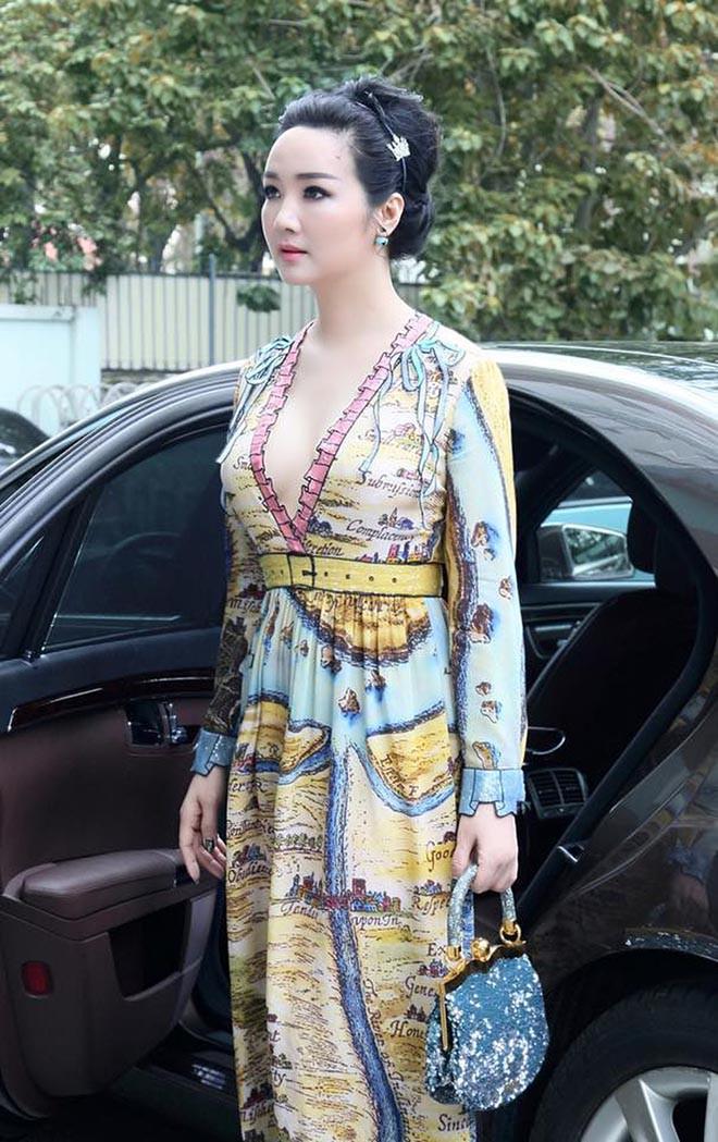 Từng là giai nhân của chủ tịch Tân Hoàng Minh, Hoa hậu không tuổi Giáng My giàu cỡ nào? - Ảnh 10.