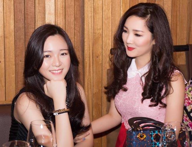 Nhan sắc xinh đẹp không tì vết của con gái HH Giáng My và chủ tịch Tân Hoàng Minh - Ảnh 1.