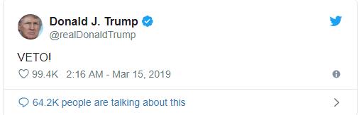 Bị chính các thượng nghị sỹ Cộng hoà quay lưng, Tổng thống Trump cảnh báo đanh thép - Ảnh 1.