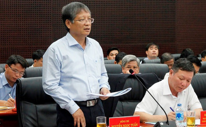 Công an khám xét nhà ông Nguyễn Ngọc Tuấn, nguyên Phó Chủ tịch UBND TP.Đà Nẵng - Ảnh 1.