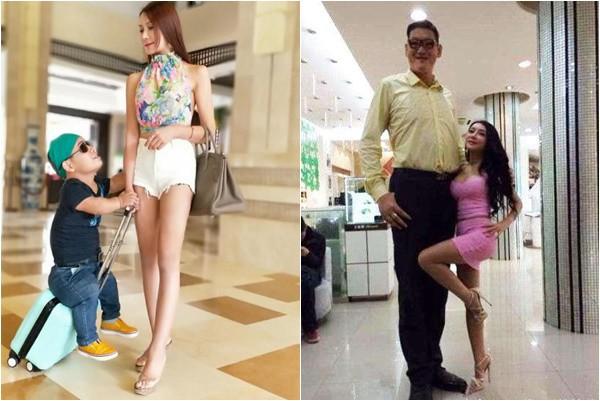 Chia tay bạn trai 1m, Cung Nguyệt Phi hẹn hò tình mới cao 2m38, rất nổi tiếng trên mạng xã hội - Ảnh 1.