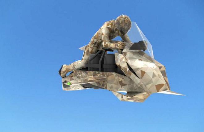 Ý tưởng công nghệ độc đáo: Môtô bay có khả năng cất, hạ cánh trên tàu sân bay - Ảnh 3.