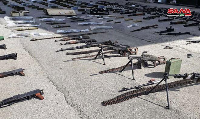 Syria: Bí mật bên trong kho vũ khí khổng lồ của phiến quân ở Homs - Ảnh 1.