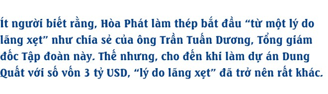 CEO Hòa Phát: Mỗi ngày, chúng tôi lãi 1 triệu USD - Ảnh 1.