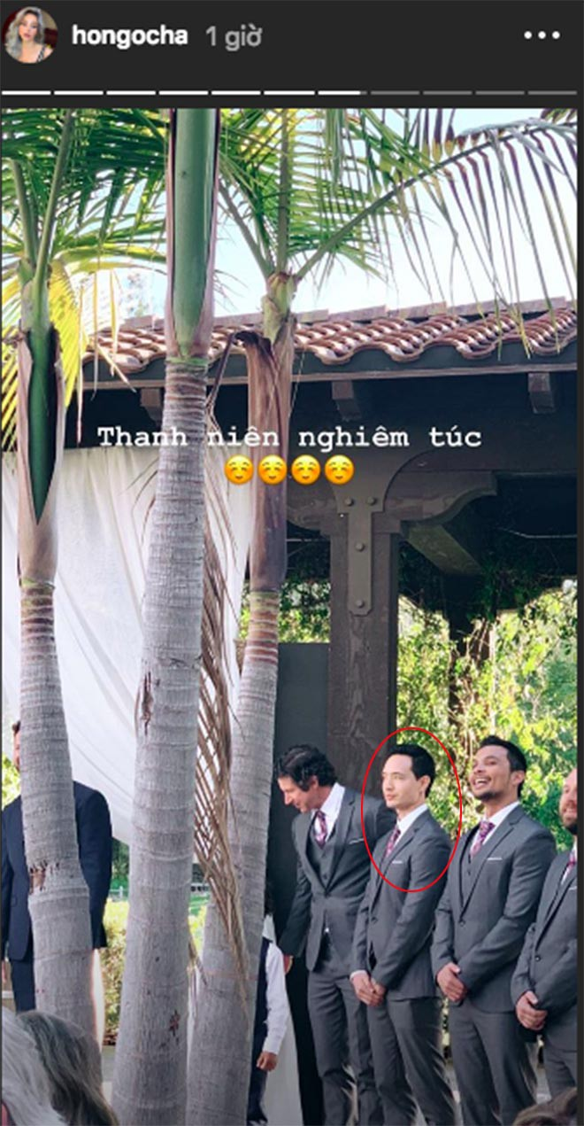 Hồ Ngọc Hà khoe lần đầu đi ăn cưới ở Mỹ và bất ngờ với biểu cảm của Kim Lý khi làm phù rể - Ảnh 4.