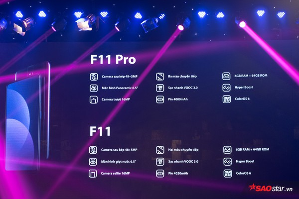 OPPO F11 Pro ra mắt tại Việt Nam: Camera selfie tàng hình độc đáo, camera sau 48 MP - Ảnh 5.