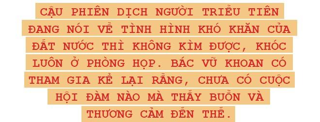 Chuyến thăm cấp cao nối lại mối lương duyên Việt-Triều sau 3 thập kỷ qua lời kể cựu Đại sứ Việt Nam ở Triều Tiên - Ảnh 7.