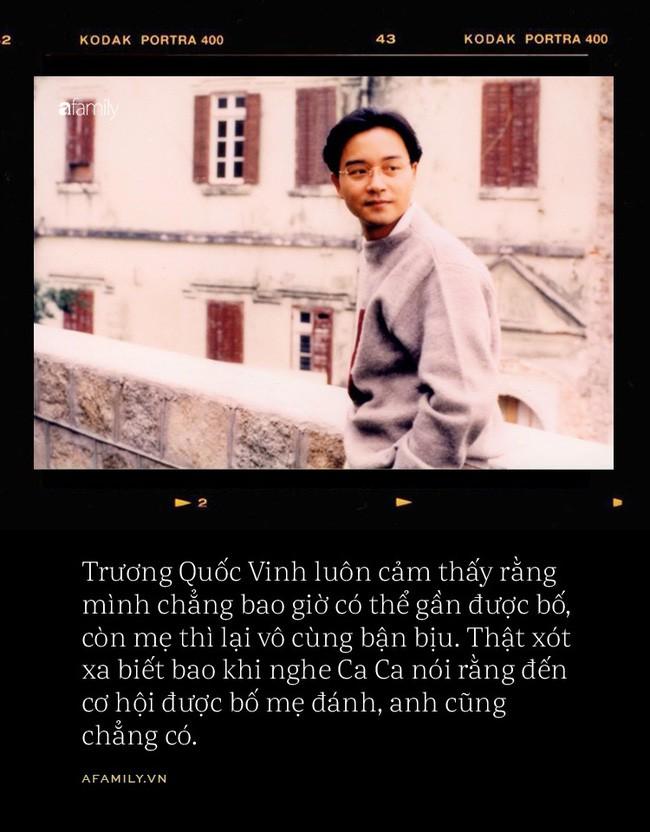 16 năm ngày mất Trương Quốc Vinh: Chuyện về một loài chim không chân, chỉ đáp xuống đất một lần khi chết - Ảnh 4.