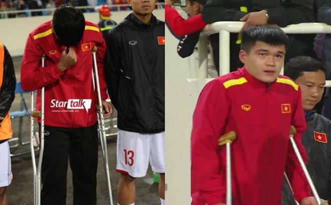Hai tuyển thủ Việt Nam về nước sau thời gian dài điều trị chấn thương tại Hàn Quốc - Ảnh 1.