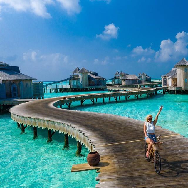 Choáng với khu nghỉ dưỡng sang chảnh bậc nhất Maldives, chỉ dành cho giới giàu đến siêu giàu - Ảnh 4.