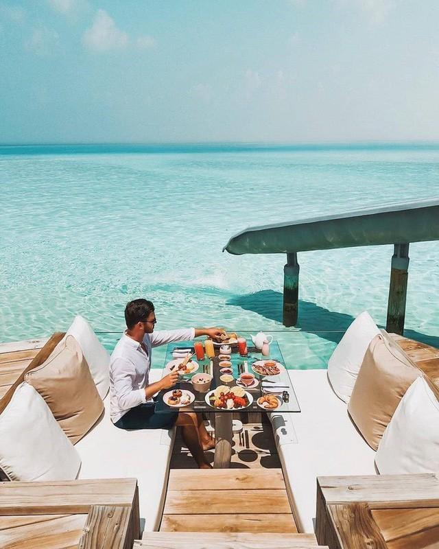 Choáng với khu nghỉ dưỡng sang chảnh bậc nhất Maldives, chỉ dành cho giới giàu đến siêu giàu - Ảnh 10.