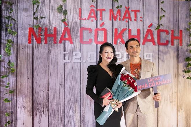 Trường Giang, Ngô Thanh Vân và dàn sao Việt chúc mừng Lý Hải ra mắt Lật mặt 4 - Ảnh 6.