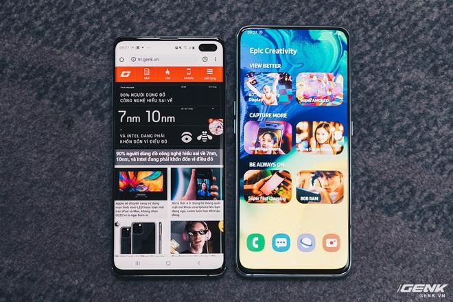 Đây là Samsung Galaxy A80: Camera nhào lộn vừa thò thụt vừa xoay lật, màn hình New Infinity không tai thỏ, camera 48MP - Ảnh 8.