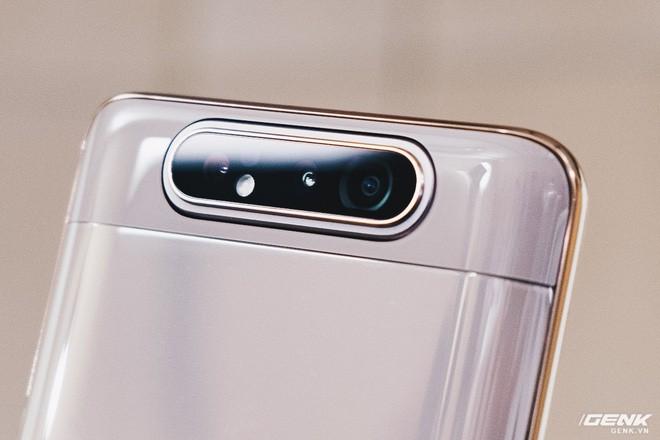 Đây là Samsung Galaxy A80: Camera nhào lộn vừa thò thụt vừa xoay lật, màn hình New Infinity không tai thỏ, camera 48MP - Ảnh 9.