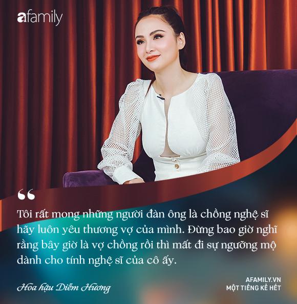 Hoa hậu Diễm Hương: Chồng nào cũng bảo nếu em đừng làm ra tiền thì đã dễ dạy hơn - Ảnh 15.