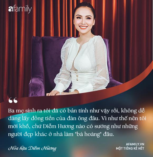 Hoa hậu Diễm Hương: Chồng nào cũng bảo nếu em đừng làm ra tiền thì đã dễ dạy hơn - Ảnh 17.