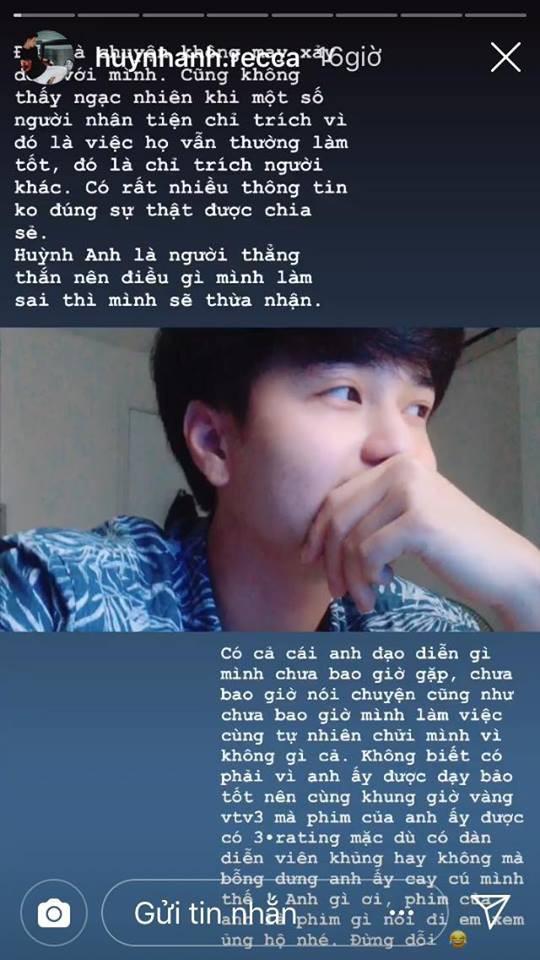 Huỳnh Anh lên tiếng đáp trả khi bị 2 đạo diễn mắng là mất dạy, vô học - Ảnh 4.
