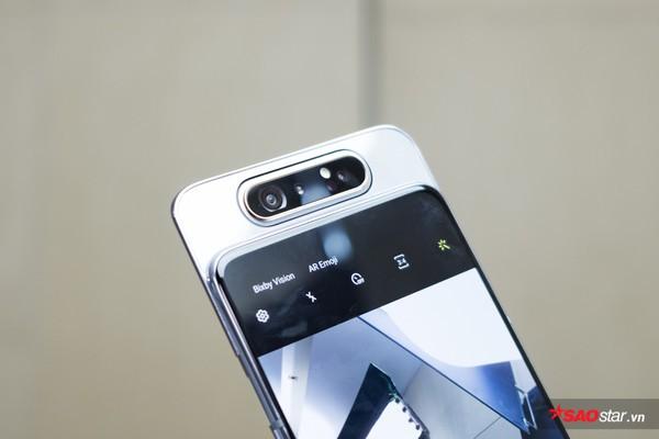 Trên tay nhanh Samsung Galaxy A80: Camera xoay lật 180 độ và màn hình chất chưa từng có! - Ảnh 3.