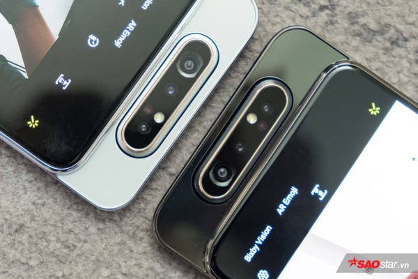 Trên tay nhanh Samsung Galaxy A80: Camera xoay lật 180 độ và màn hình chất chưa từng có! - Ảnh 4.