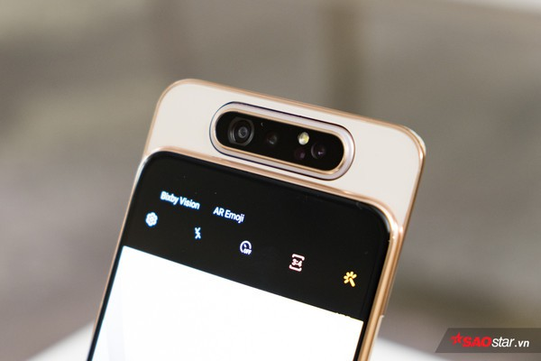 Trên tay nhanh Samsung Galaxy A80: Camera xoay lật 180 độ và màn hình chất chưa từng có! - Ảnh 5.