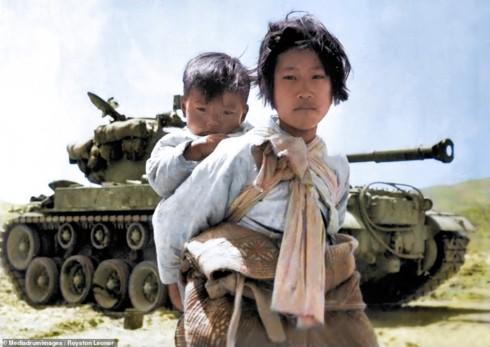 Ảnh màu hiếm mô tả sự tàn khốc của chiến tranh Triều Tiên - ảnh 1