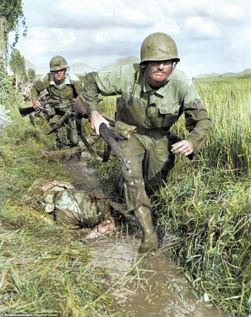Ảnh màu hiếm mô tả sự tàn khốc của chiến tranh Triều Tiên - ảnh 2