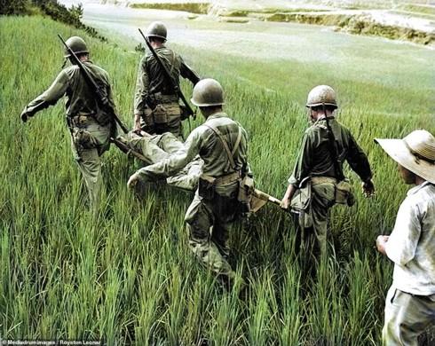 Ảnh màu hiếm mô tả sự tàn khốc của chiến tranh Triều Tiên - ảnh 4