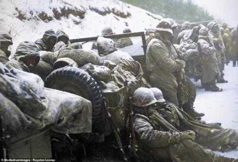 Ảnh màu hiếm mô tả sự tàn khốc của chiến tranh Triều Tiên - ảnh 5