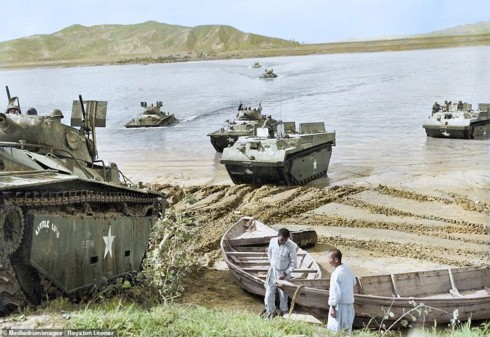 Ảnh màu hiếm mô tả sự tàn khốc của chiến tranh Triều Tiên - ảnh 7