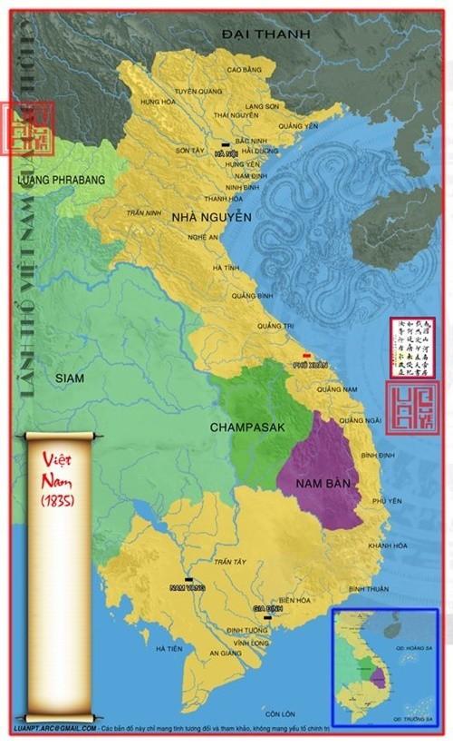 Đúng 217 năm trước, nước ta lần đầu tiên được mang tên Việt Nam - Ảnh 1.