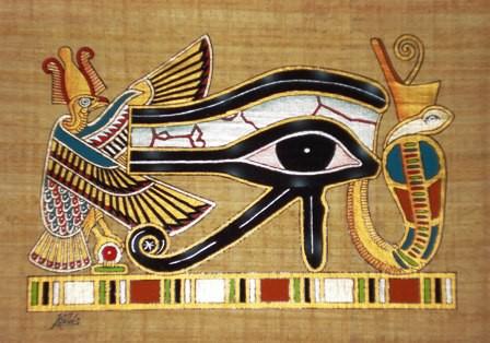 Giải mã biểu tượng con mắt Horus trong thần thoại Ai Cập - Ảnh 1.