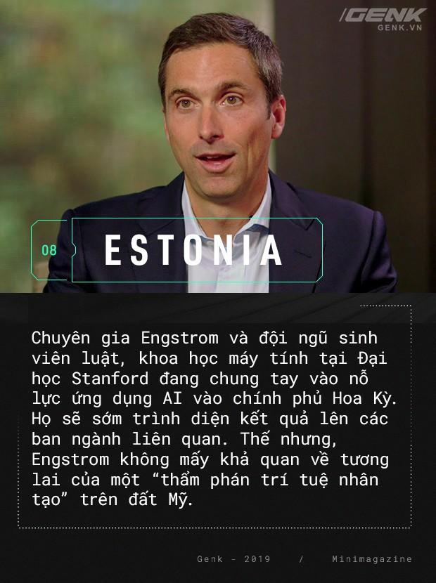 Chào mừng bạn đến với Estonia - nơi quan tòa không phải là con người - Ảnh 12.