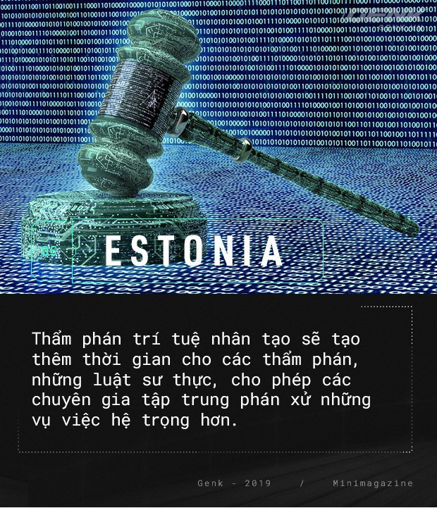 Chào mừng bạn đến với Estonia - nơi quan tòa không phải là con người - Ảnh 7.