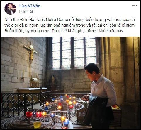 Sao Việt đau xót cầu nguyện trước cảnh tượng Nhà thờ Đức Bà Paris chìm trong biển lửa - Ảnh 8.