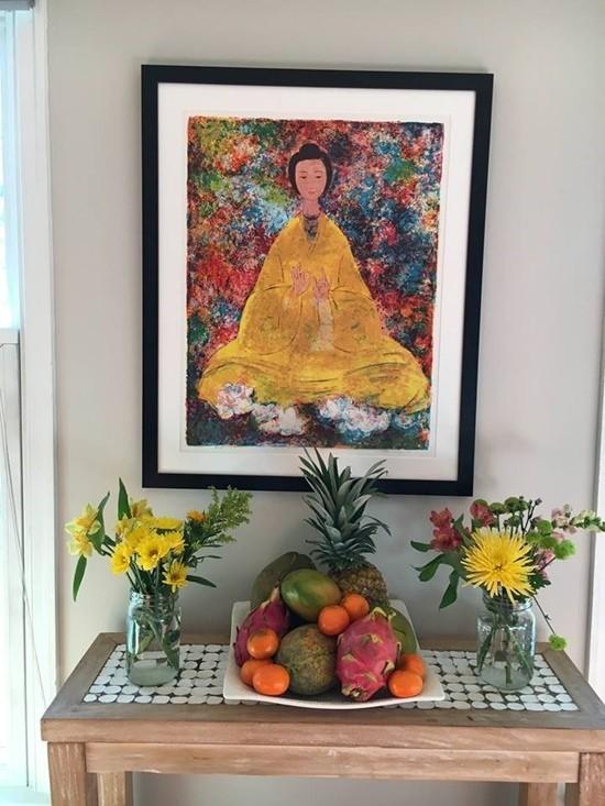 Bỏ hào quang sang Mỹ, Hoa hậu Ngọc Khánh viên mãn sống đời giản dị, trồng nho phụ chồng - Ảnh 10.