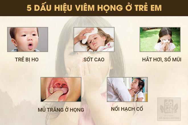 Viêm họng ở trẻ em: Dấu hiệu và cách chữa không kháng sinh giúp bé không còn ho, sốt - Ảnh 3.