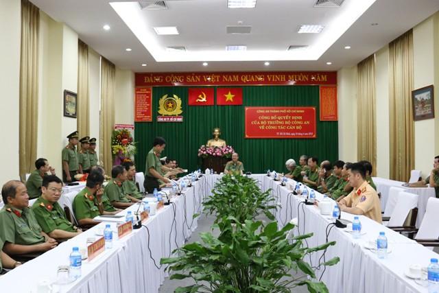 Bổ nhiệm Đại tá Nguyễn Sỹ Quang giữ chức Phó Giám Đốc Công an TPHCM - Ảnh 1.