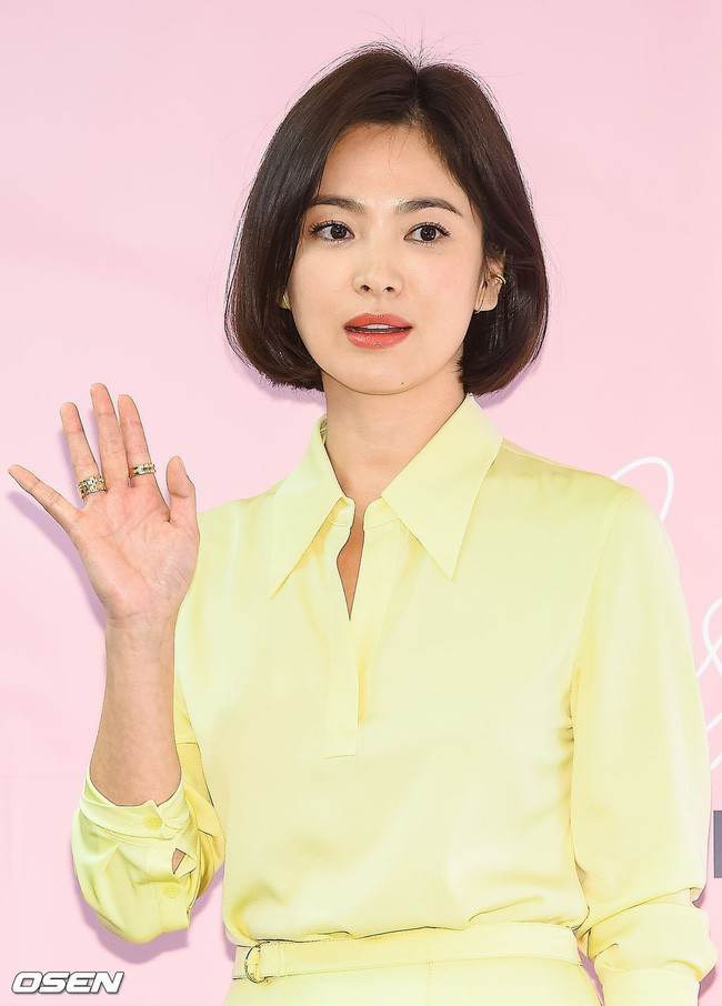 Song Hye Kyo tỏa sáng rực rỡ khi đi sự kiện nhưng lại bị lộ khuyết điểm này trên cơ thể - ảnh 1