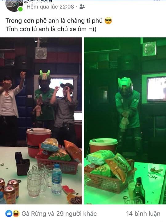 Cô gái trẻ đòi chia tay vì bạn trai mặc nguyên đồng phục xe ôm tới 'quẩy' ở quán karaoke và sự thật ngỡ ngàng - ảnh 3