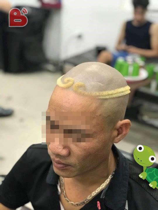 Tóc đẹp chào hè: Tái hiện vòng kim cô của Trư Bát Giới, ra đường không sợ 'đụng hàng' - ảnh 3