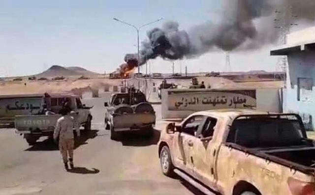 Chiến sự Libya có bước ngoặt lớn - Một chiến đấu cơ của GNA bị tên lửa phòng không bắn hạ - Ảnh 5.