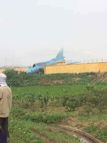 Ảnh hiện trường vụ máy bay Su-22 gặp nạn ở Yên Bái - Ảnh 4.