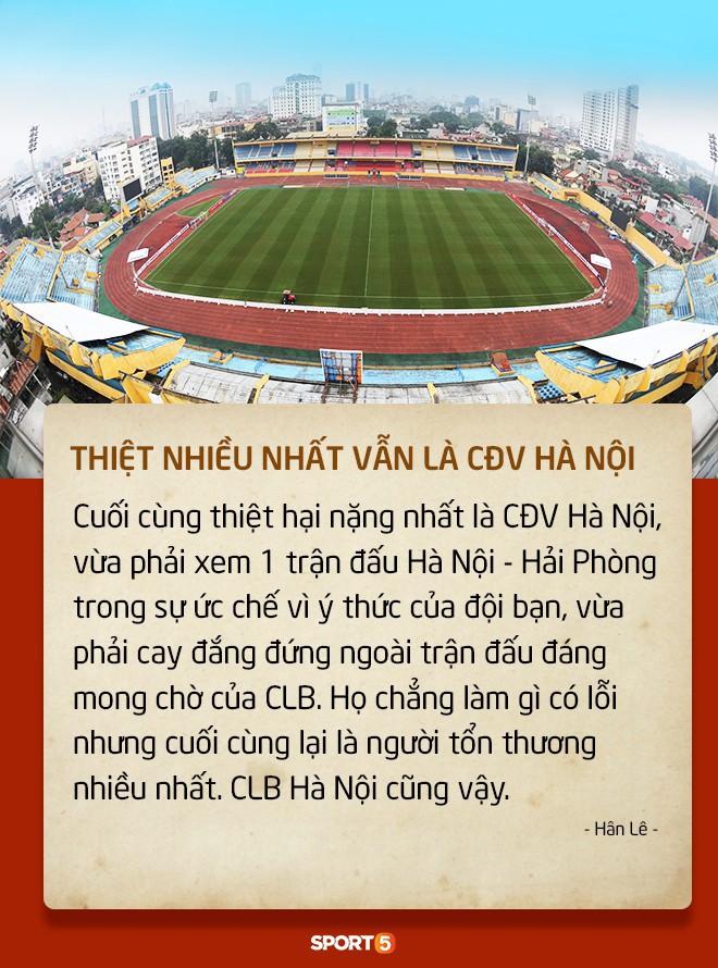 Fan Việt tranh cãi nảy lửa chuyện sân Hàng Đẫy bị treo vì CĐV Hải Phòng đốt pháo sáng - Ảnh 1.