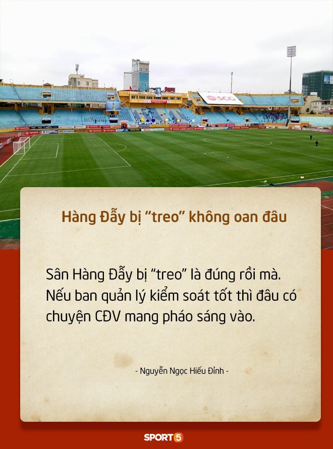 Fan Việt tranh cãi nảy lửa chuyện sân Hàng Đẫy bị treo vì CĐV Hải Phòng đốt pháo sáng - Ảnh 4.